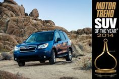 Awesome Subaru 2017: 2014 Motor Trend SUV of the Year Winner: Subaru Forester - Motor Trend... Check more at http://cars24.top/2017/subaru-2017-2014-motor-trend-suv-of-the-year-winner-subaru-forester-motor-trend/