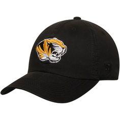 Missouri Tigers Top of the World Solid Crew Adjustable Hat - Black - $19.99
