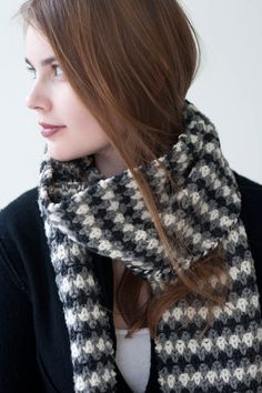 scarves, etc. 2014: midwinter by true brit knits / quince & co osprey
