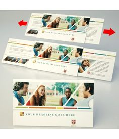 Campus Life Direct Mail Design | EXT-1-C1 | Red Paper Plane