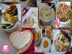 patés, humus e antepasto