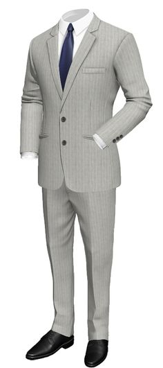 Slim fit pinstripe suit in linen: http://www.tailor4less.com/en-us/collections/custom-suit/summer-party-suits/marly-slim-fit-pinstripe-suit-in-linen