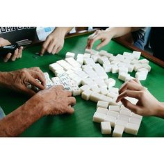 「It isn't Chinese New Year without some gambling #CNY #Mahjong」