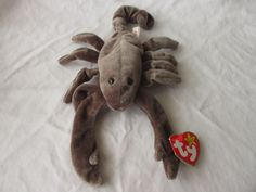 Vintage Beanie Baby 1997 Stinger the Scorpion by jclairep on Etsy