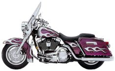 Harley-Davidson Purple Paint   Custom paint sets produced for the Motor Co. limited to 200 units
