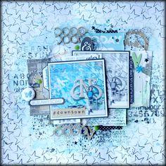 Asokascrapper - Scrapbooking page - Creative Embellishments