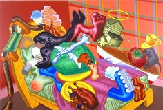 peter saul art - Google Search