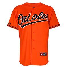 fc529f03f Baltimore Orioles Replica Alternate Orange Jersey.  http   www.clarkstreetsports.com