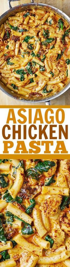Asiago Chicken Pasta