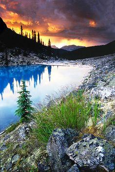 Morraine Lake, Banff National Park, Canada; photo by Todd  Sarah Sisson
