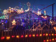 Thomson Street Northcote #ChristmasLights 2014 The Best Of Christmas, Christmas Lights, Street, Heidelberg, Christmas Fairy Lights, Walkway