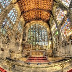 William Shakespeare's grave, Chancel in Holy Trinity Church, England