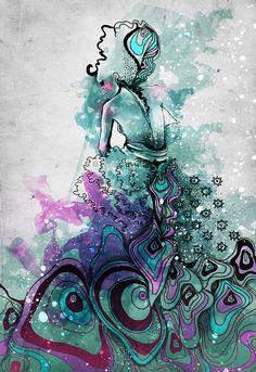 Illustrations by Kathy Murysina    Found on Tumblr
