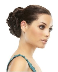 New Style Curly Bold Style Remy Hair Bun