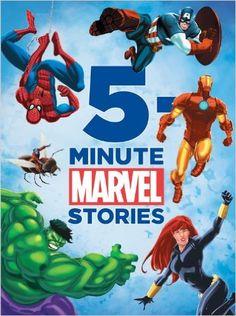 5-Minute Marvel Stories (5-Minute Stories): Disney Book Group: 9781423167228: Amazon.com: Books