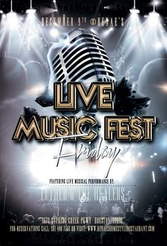 Live Music Fest Friday featuring Luther & The Healers