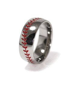 1000+ Ideas About Baseball Ring On Pinterest | Baseball Wedding Bands Ring Shots And Tungsten ...