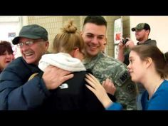 [VIDEO] U.S. Soldier Surprises His Mom & Wife at Shopping Mall for Christmas