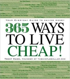 Frugal Living Tips from this book are shared.