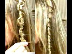3 unique braids in 3 minutes