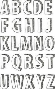 Awesome Typography Alphabet Design (53)