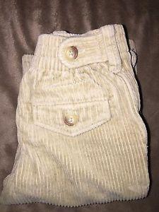 Polo Ralph Lauren Baby Boy Pants Corduroy Tan Size 12 Months
