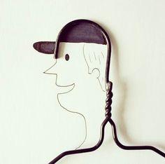 Les créations Instagram deJavier Pérez, un directeur artistique basé en Equateur, qui s'amuse à détourner avec beaucoup d'humour les objets du quotidien,