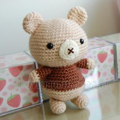 Bear Gurumi Crochet Pattern