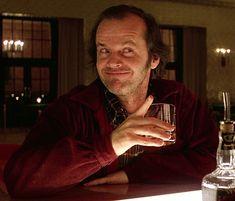 "haidaspicciare: "" Jack Nicholson, ""The Shining"" (Stanley Kubrick, "" Jack Nicholson Gif, Jack Nicholson The Shining, Movie Gifs, Movie Tv, Movies Showing, Movies And Tv Shows, Film Mythique, Here's Johnny, Slasher Movies"