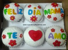 Mother`s day cupcakes