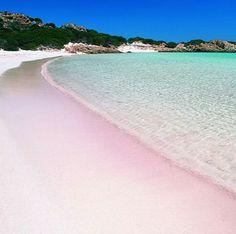 Bahamas -Pink sand beach
