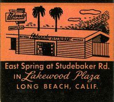 Beach vintage matchbook covers   El Dorado Restaurant   Flickr - Photo Sharing!