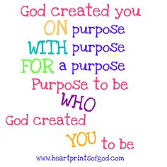 Heartprints of God: Do it...ON PURPOSE!~ Day 31 {Make. It. Count. Series}~<3