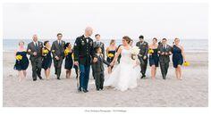 Photo by Tracy Rodriguez Photography Tags = RI Wedding, Narragansett Wedding, Beach Wedding, Bridesmaids, Bridal Party, Wedding Party Walking
