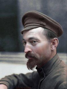 Феликс Дзержинский в цвете.