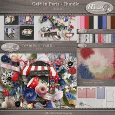 Cafe in Paris - Bundle
