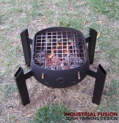 Energetic screened diy welding projects ideas Contact us Outdoor Stove, Outdoor Fire, Fire Cooking, Outdoor Cooking, Metal Projects, Welding Projects, Metal Crafts, Diy Welding, Diy Fire Pit