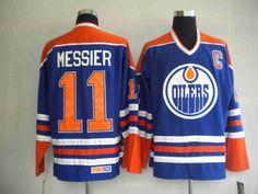 Edmonton Oilers 11 Mark MESSIER Home Jersey