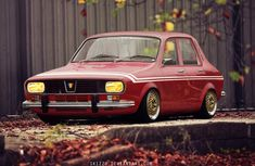 A Dacia 1300 Gordini. This is the video procces of how i've created this car. Retro Cars, Vintage Cars, Renault Sport, Fiat 850, Mens Toys, Mustang Cars, Hot Cars, Motor Car, Romania