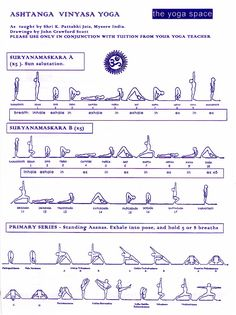 Surya Namaskara/Sun Salutation/Saludo al Sol – Proyecto Yoga Unlimited Yoga Bewegungen, Ashtanga Vinyasa Yoga, Yoga Moves, Yoga Flow, Yoga Meditation, Yoga Exercises, Pilates Yoga, Iyengar Yoga, Kundalini Yoga
