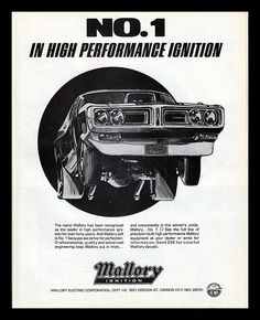 Mallory Ignition...my dad named me after this lol