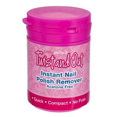 Instant Nail Polish Remover Pot | Poundland