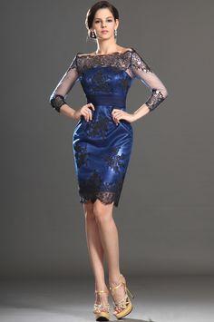 eDressit 2013 New Off Shoulder Black Lace Mother of the Bride Dress (26130405)