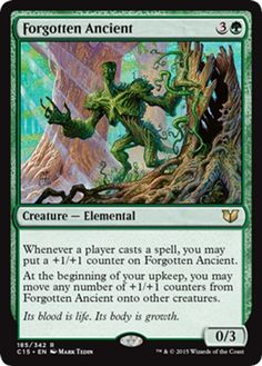 Magic: the Gathering - Forgotten Ancient - Conspiracy Take the Crown Magic Playing Cards, Magic Cards, Mtg Altered Art, Mtg Decks, Writing Fantasy, Magic The Gathering Cards, Thing 1, Flesh And Blood, Wizards Of The Coast