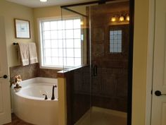Small Bathroom Designs With Separate Shower And Tub small soaking tubs with shower | separate tub and shower options