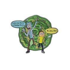 Rick and Morty 'Ah Jeez' Enamel Pin