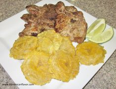 Dominican Savory Pork Chops. More step by step illustrated dominican recipes.