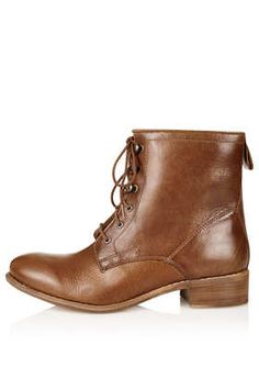 AINSLEY Lace Up Worker Boot