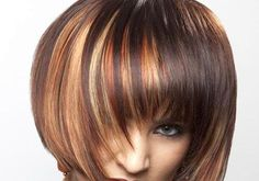 Image result for red hair with blonde highlights