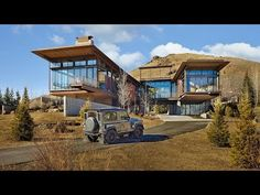 Industrial house this modern mountain house is filled with industrial materials industrial farmhouse exterior . Industrial Farmhouse, Industrial House, Modern Industrial, Woodworking Store, Woodworking Plans, Modern Rustic Homes, Japanese Interior, Amazing Destinations, Wood Projects